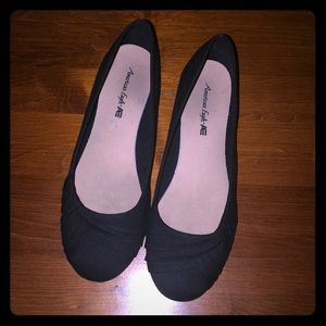 American Eagle Outfitters Bree Black Flats